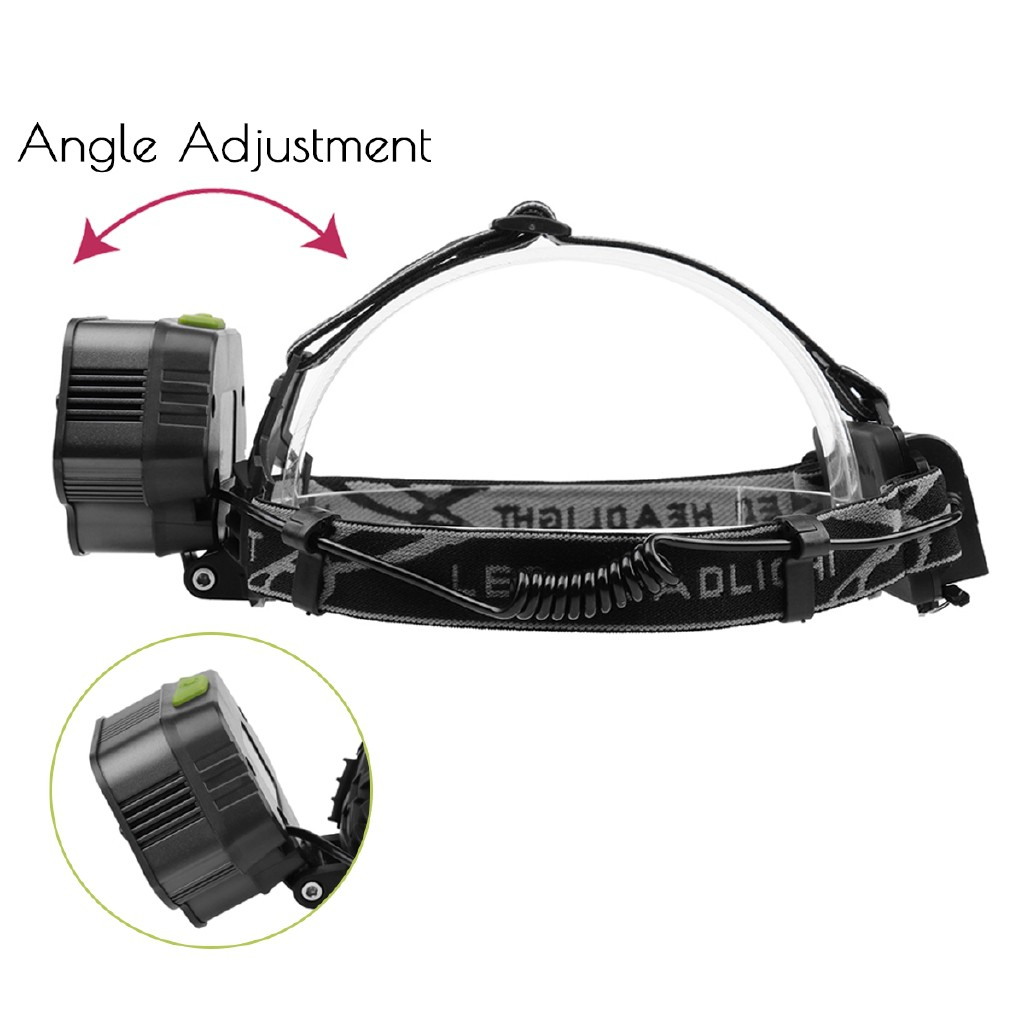 90000LM 5X T6 LED Headlamp Rechargeable Headlight Light Flashlight Head Torch T