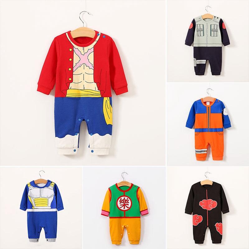 YUNY Baby Boys Girls Halloween Warm Longsleeve Cute Romper Jumpsuit Orange 70