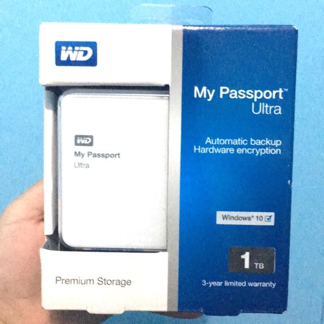My Passport WD Ultra Hard Drive 1T
