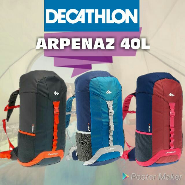 291bac7abf Decathlon Quechua ARPENAZ 40L HIKING Backpack