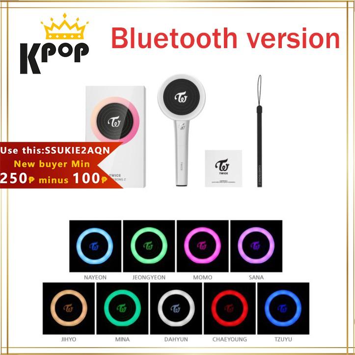[Onhand/COD] Twice Lightstick Ver 2 Candy Bong Z Bluetooth Version Twice  Light Sticker Version 2