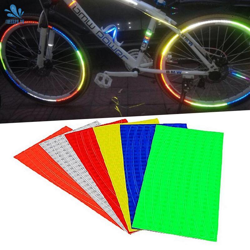Bike Reflective Stickers Motorcycle Bicycle Reflector Cycling Warning Reflector√