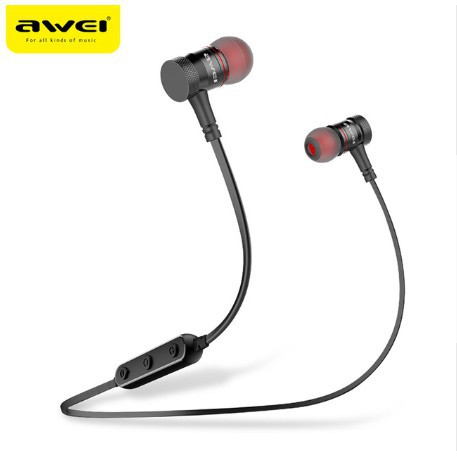 4f46626efc9 AWEI AK4 Magnetic Switch Wireless Earphone sports Bluetooth Headset with  Mic | Shopee Philippines