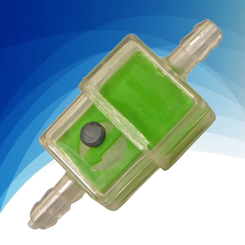 1pc 6mm square inline fuel filter for motorcycle moped scooter trials useful