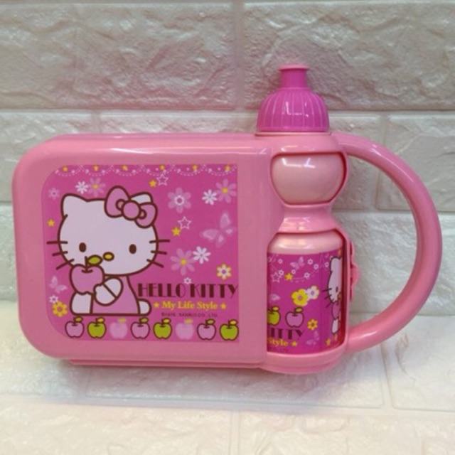 f5c5f0866 ProductImage. ProductImage. ⚡ ⚡ Cod hello kitty cars avengers lunch box  /bottle set