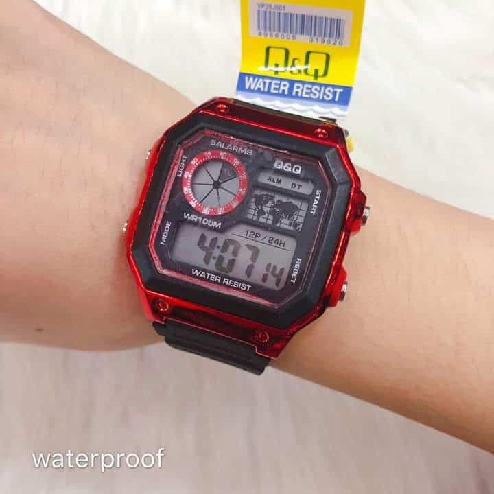 J J Store Cod Qq Watch Waterproof Shopee Philippines