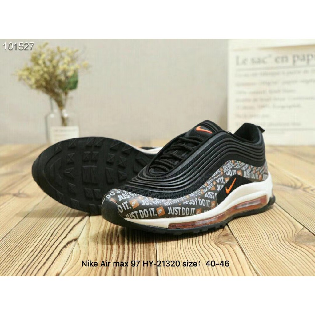 25c8810271 Nike Air Max 97 JUST DO IT Mens sports shoes damping cozy | Shopee  Philippines