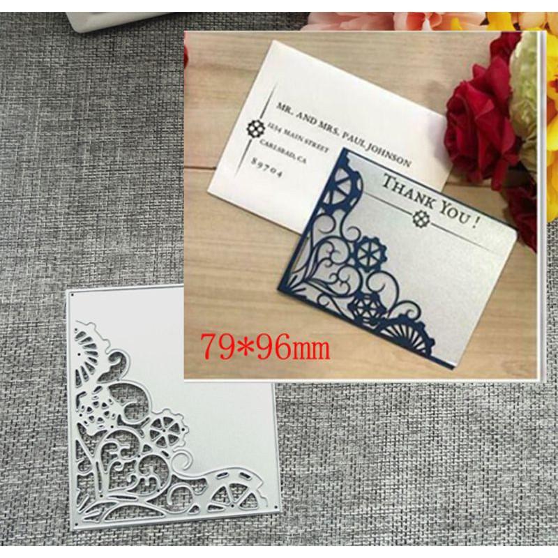 Lace Frame Metal Cutting Dies Stencil DIY Scrapbook Album Paper Card Craft