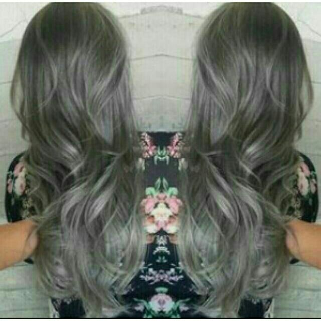 Ash/Gray Hair Color | Shopee Philippines