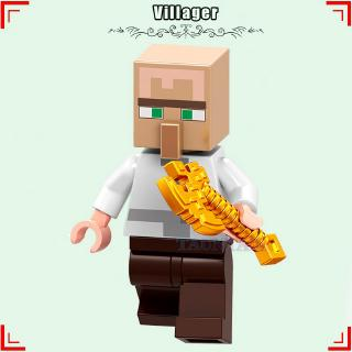 Dragon Slayer Minecraft Personnages LEGO ® Figurines  Alex Villager