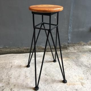 Amazing Round Bar Stools Spade Creativecarmelina Interior Chair Design Creativecarmelinacom
