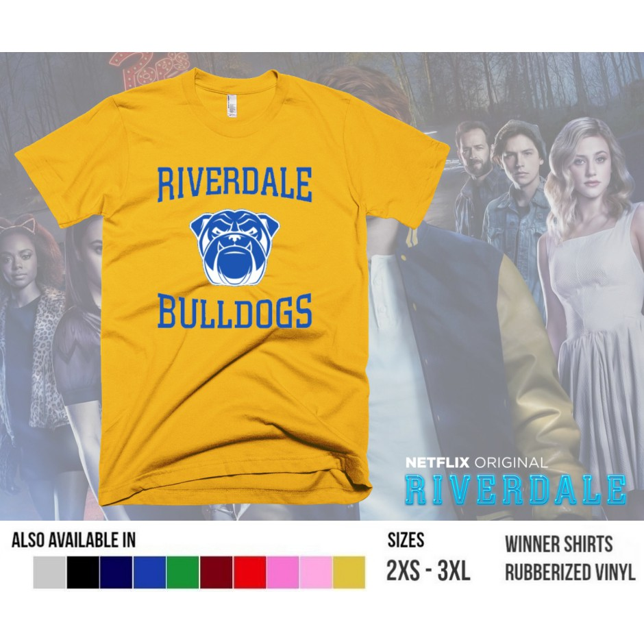 Riverdale Bulldogs Shirt Shopee Philippines