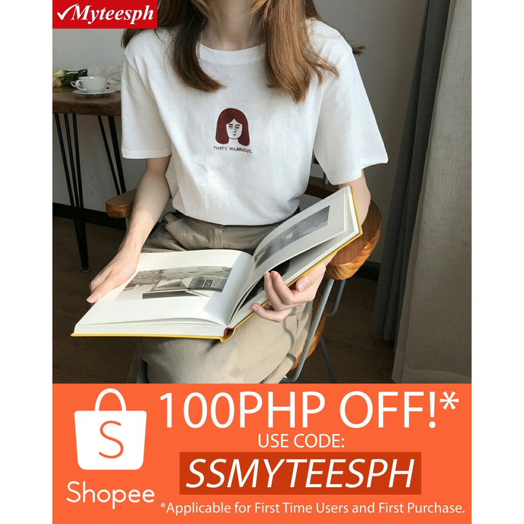 c6efd6546 Shop Tees Online - Women's Apparel | Shopee Philippines