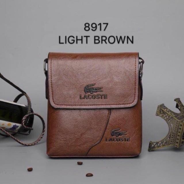 83398543c2e0 Lacoste Sling Bag -Best For Men's | Shopee Philippines