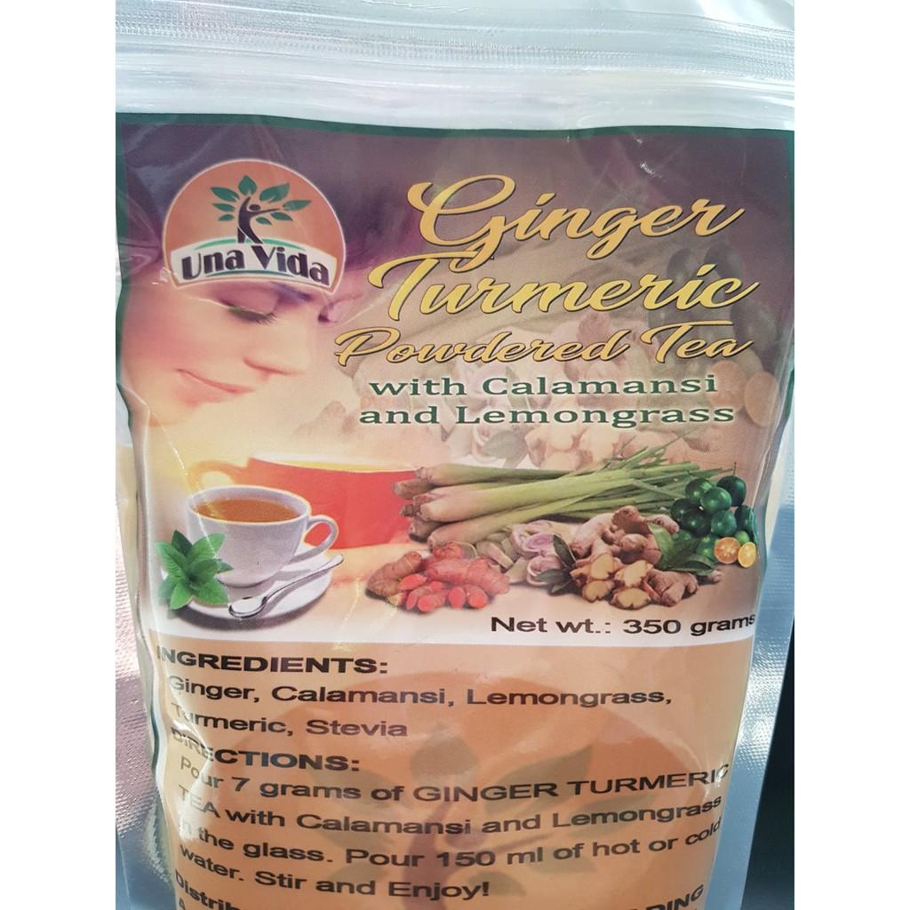 COD New Packaging Ginger Turmeric maxi tea with Calamansi & Lemongrass  Stevia 350g | Shopee Philippines