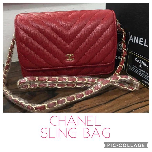 bc5c121c7812 Chanel Sling Bag Small | Shopee Philippines