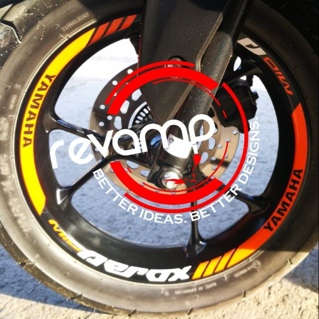 Aerox Mags Reflectorized Decal Shopee Philippines