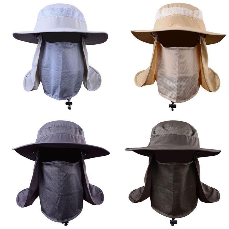 Outdoor Sport UV Protection Fishing Caps Hiking Hat Sun Cap  f47dbdddac1