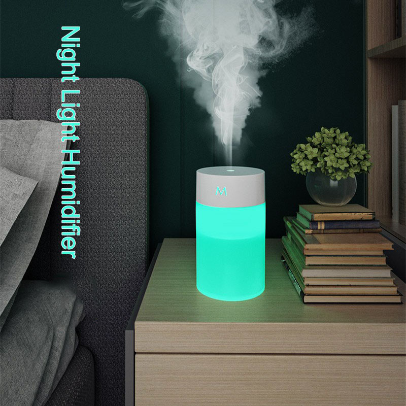 Ultrasonic Humidifier Air Purifier Diffuser Humidifer for Aroma In Home Office Car Night Light LED Home Appliances Humidifiers & Air Purifiers Humidifier