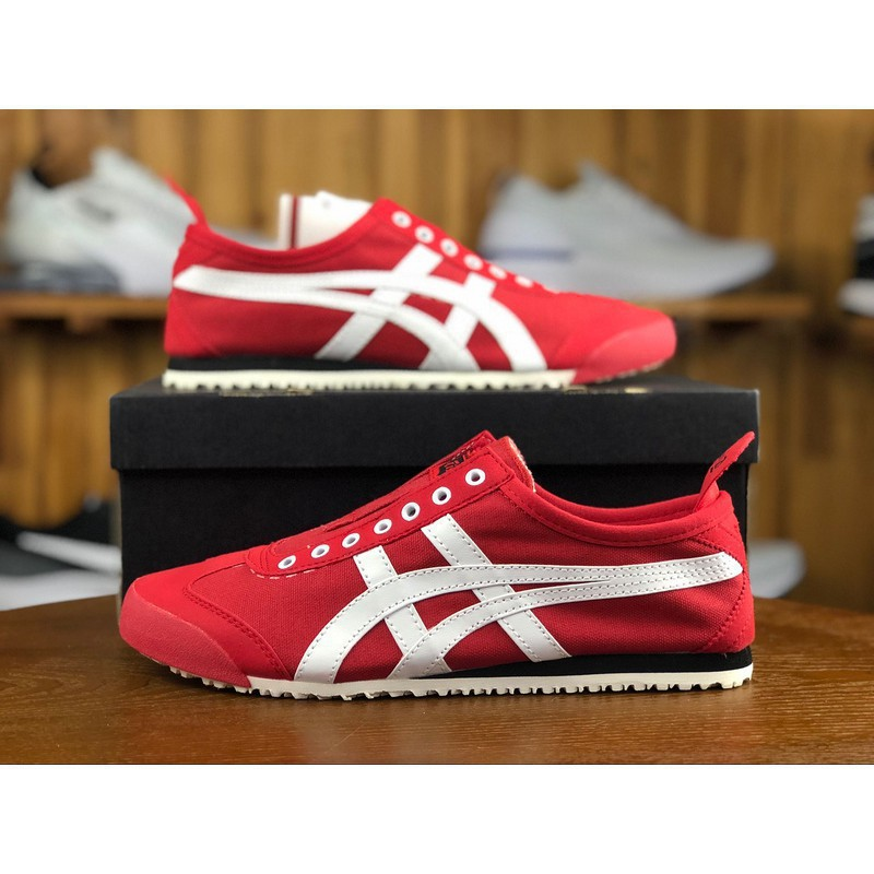 onitsuka tiger mexico 66 black and pink uptempo red