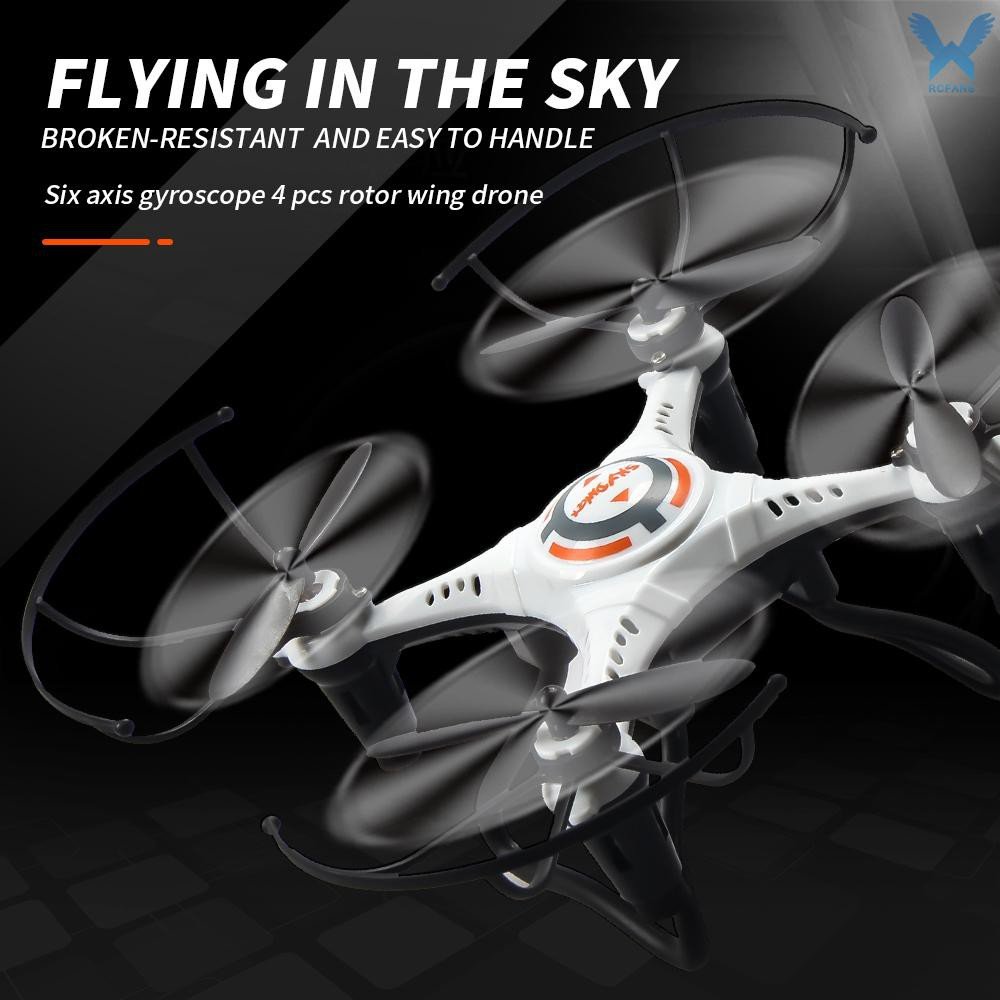 Mini Drone for Kids 2.4G 4CH 6-Axis RC Quadcopter Toy Headless Mode 360 3D Flip