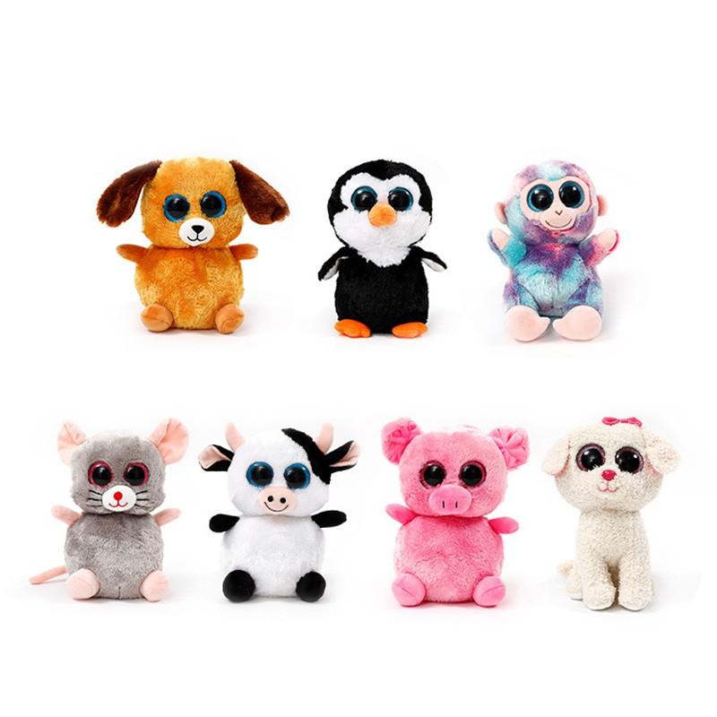 617a1f4ca97 10 Styles New Tsum Tsum Ty Original Teeny Tys Mabs Giraffe Plush Toy ...