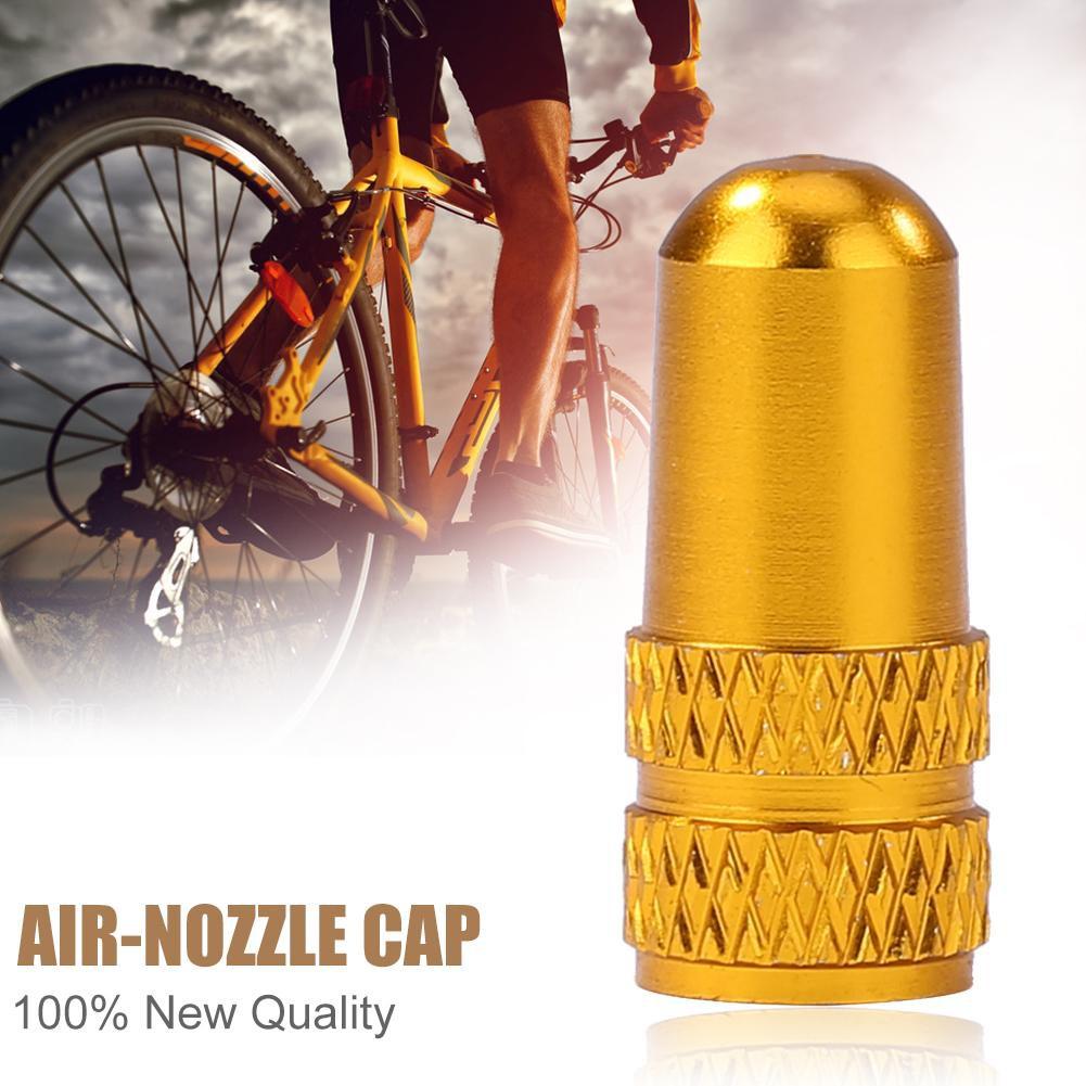 4 x Bike Bicycle Aluminium  Valve CAP Dust Cover MTB FIX Road Race