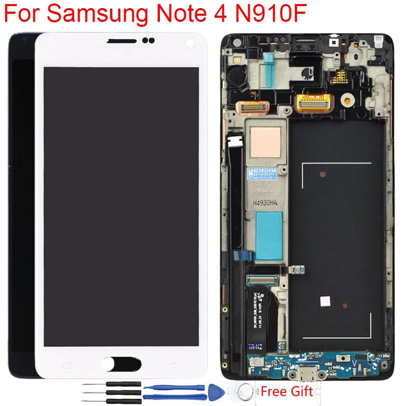 AMOLED LCD Screen For Samsung Galaxy Note 4 N910A | Shopee Philippines