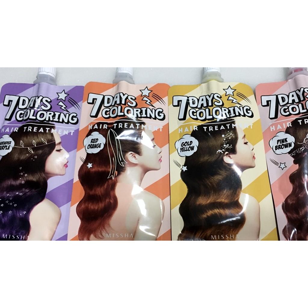 Missha 7days Coloring Hair Treatment 25ml