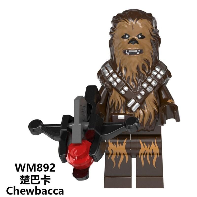 21PCS Star Battle Composite Sith Trooper Mini Figure Building Blocks DIY Toys
