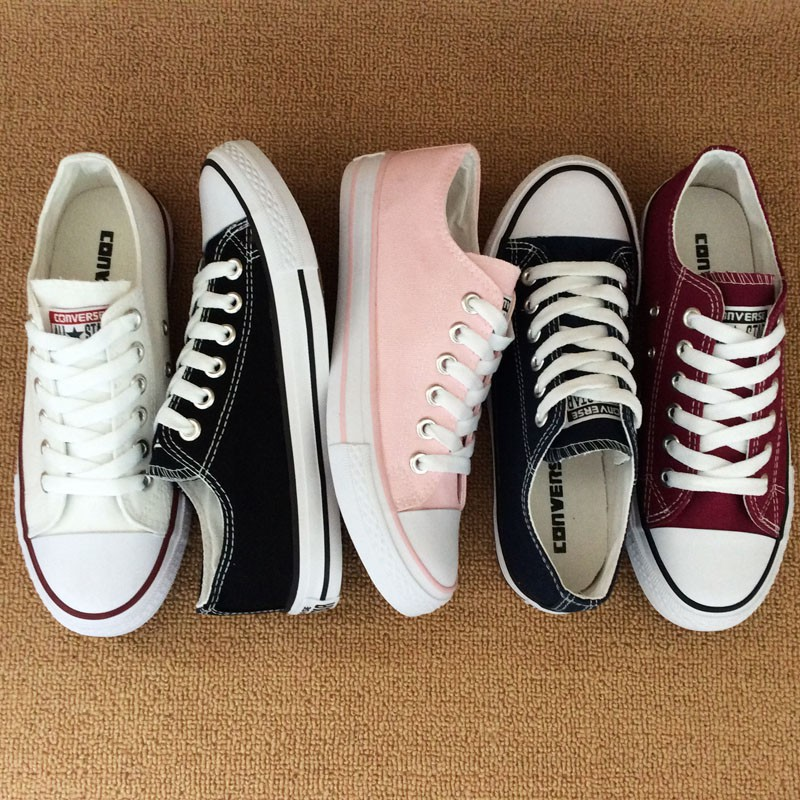 3a8a8417c097 COD🔥Converse all black Chuck Taylor All Star Low Cut shoes