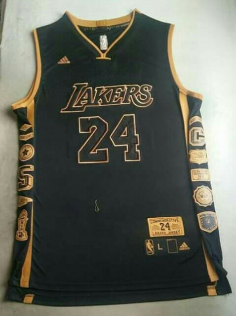 timeless design ab476 7cfab Adidas Kobe Bryant Commemorative Replica Jersey | Shopee ...