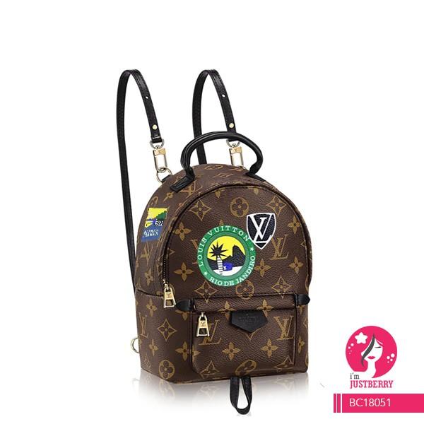 Premium Louis Vuitton Denim   Creme Lockme Backpack Bag  8f690665425ff