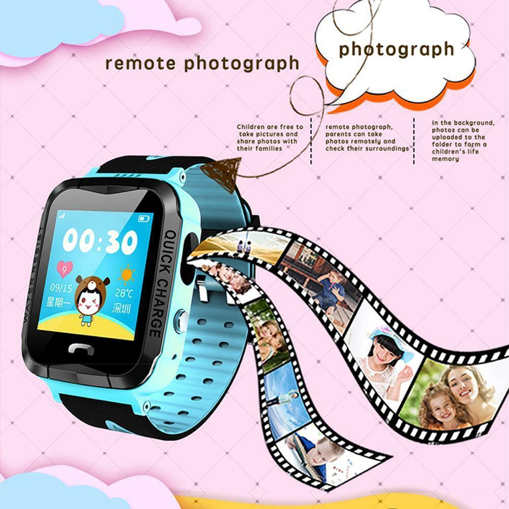 FOEEVER Y34 Waterproof Children Smart Watch Phone Touch ...