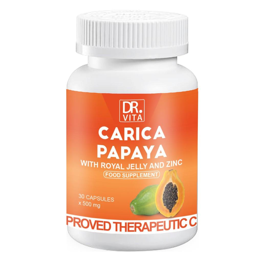 Dr  Vita Carica Papaya with Royal Jelly and Zinc