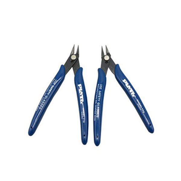Blue Electrical Cutter Plier Wire Cable Cutter Side Snips Flush Pliers 128mm