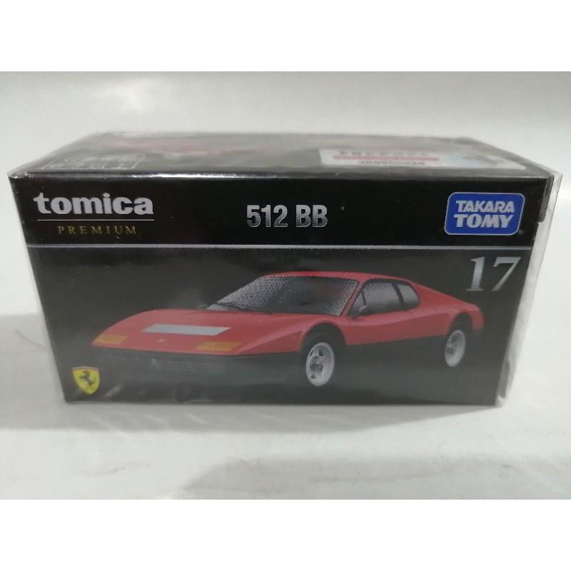 Tomica Premium 13 Ferrari 512BB red BOXED SEALED