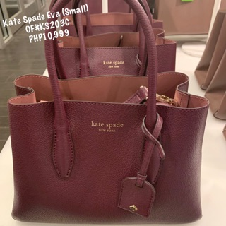 suitable for men/women on wholesale top quality Kate Spade Eva Leather Small Satchel ♠️