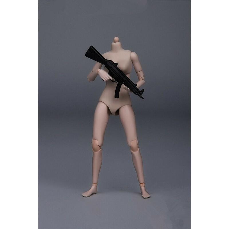 Heng Toys 1//12 HY001 Pale Flexible Mini Girl Body 12.5cm Action Figure Model