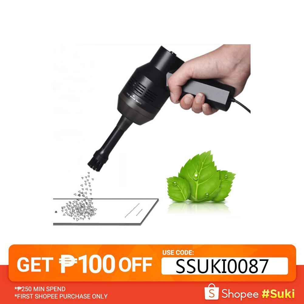 Portable USB Handheld Vacuum Cleaner Computer Keyboard Brush