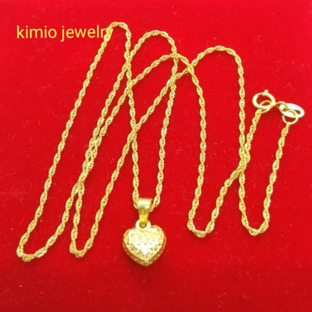 4a23caefd gold pendant - Jewelry Prices and Online Deals - Women's Accessories Jun  2019   Shopee Philippines