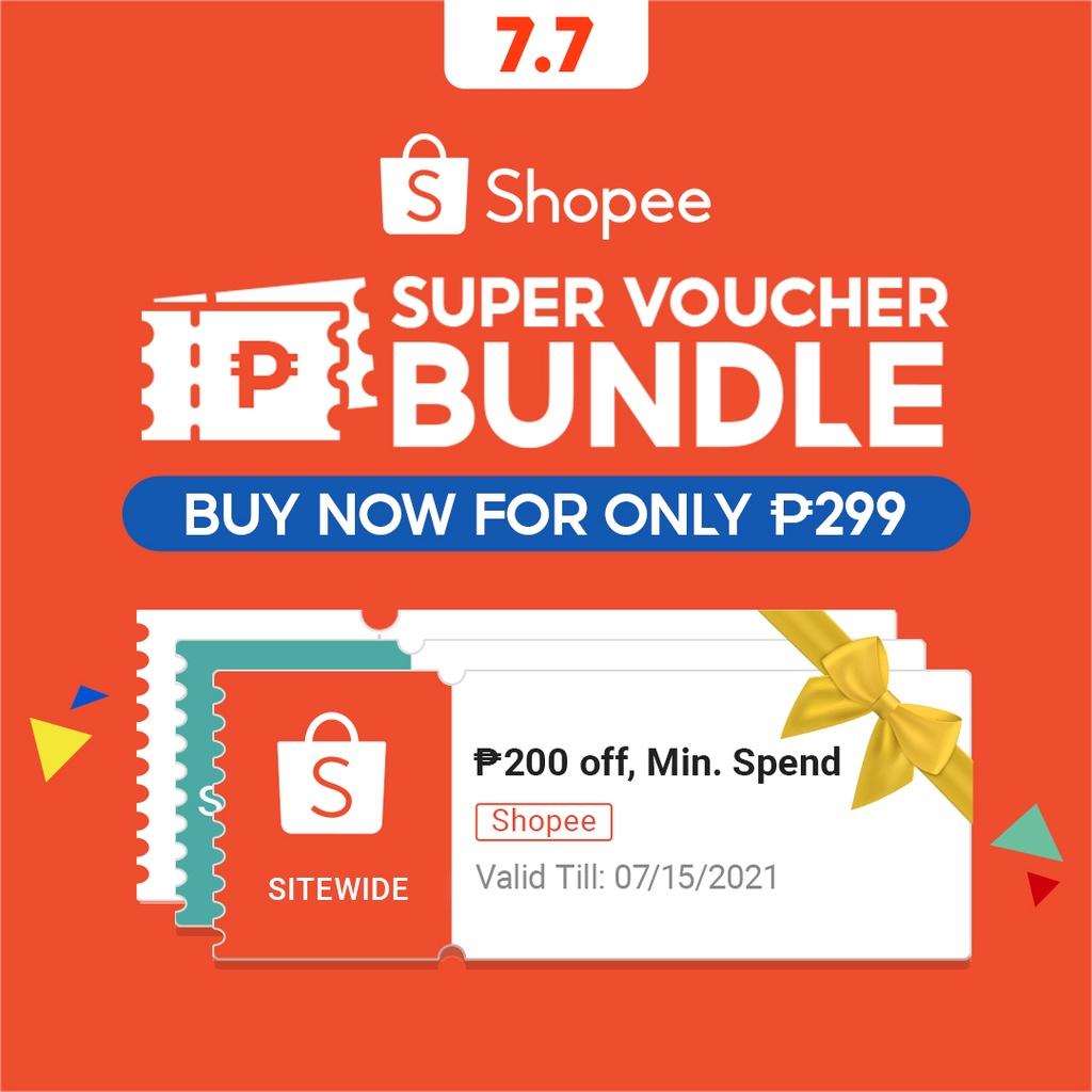 Super Voucher Bundle   20.20 Mid Year Sale   Shopee Philippines