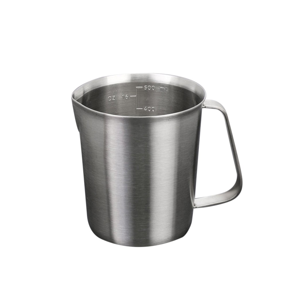 Steel Outdoor Travel Mug Diy Coffee Making Measuring Beaker Drinking Cup Xs Shopee Philippines
