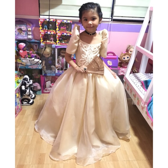 FILIPINIANA DRESS   Shopee Philippines
