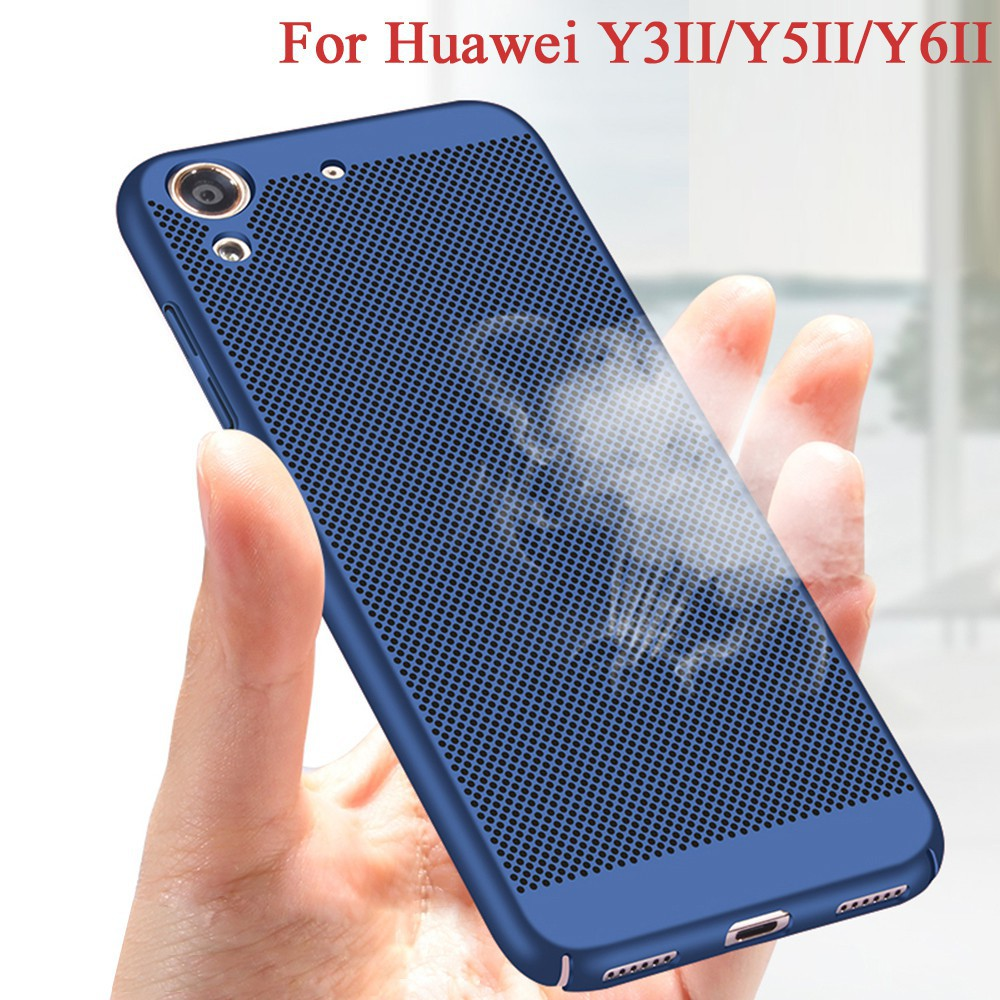 Heat Dissipation For Huawei Y3II Y5II Y6 II Case Hard Shell