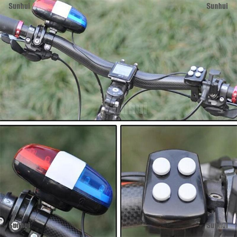 Bike Horn Bicycle Light 4 Loud Siren Bicycle Bell Cycling With Horn Bell