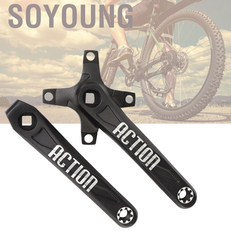 1PCS 170MM MTB Bike Mountain Bicycle Left Crank Arms Chainwheel Leg