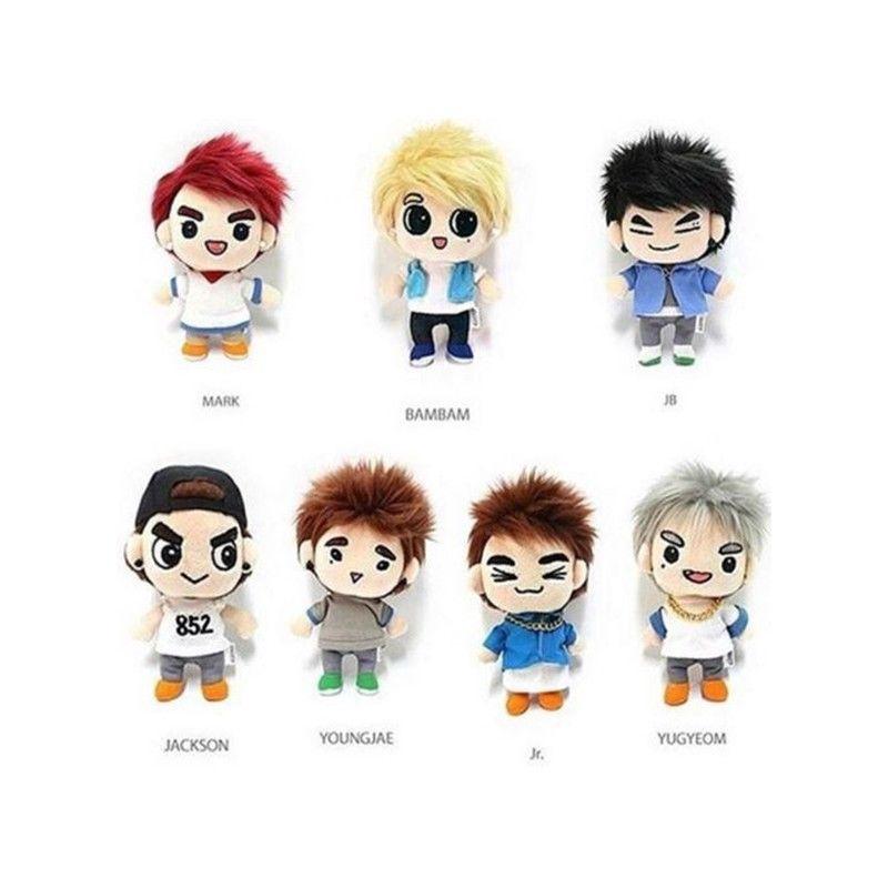 GOT7 Dream Knight Character Plush Doll BAMBAM YOUNGJAE