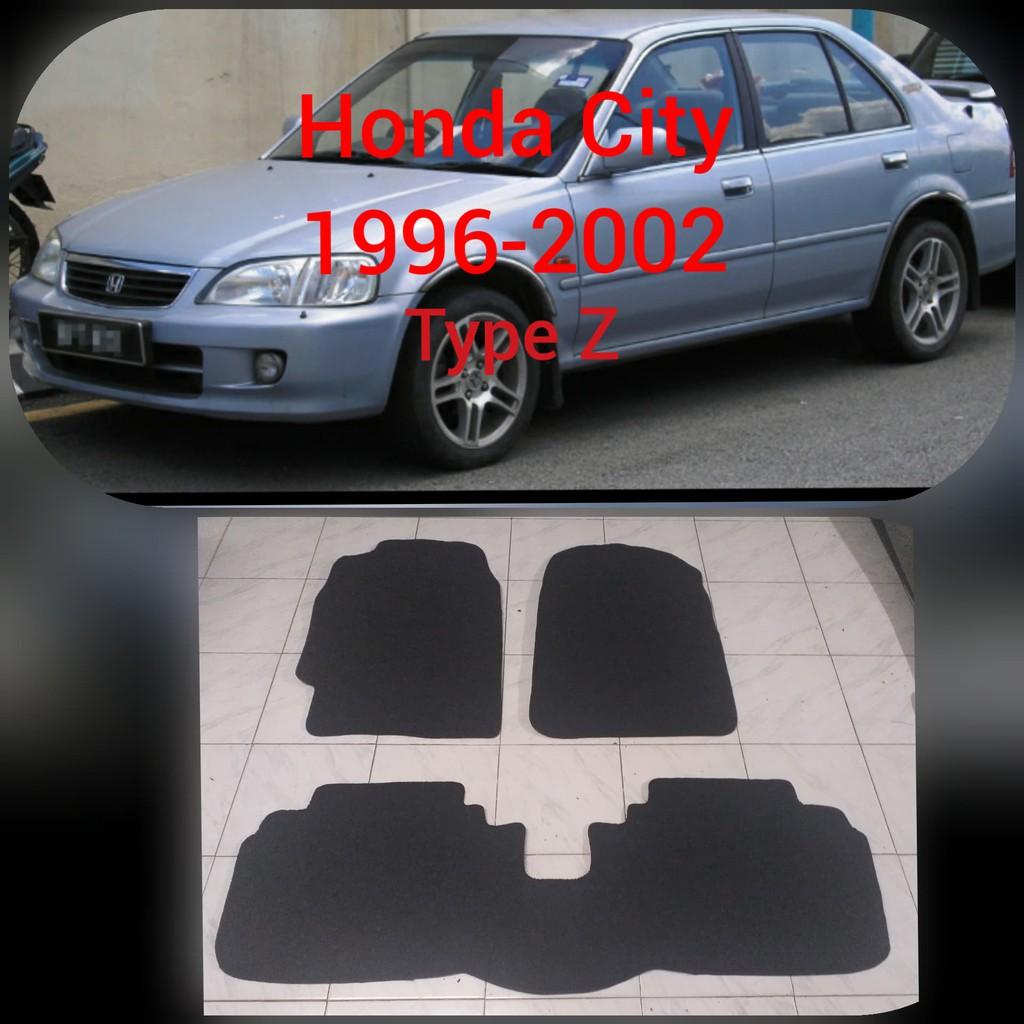 Honda City 1996 2002 Type Z Nomad Carmat With Piping City Type Z Custom Rubber Car Mat Honda City Shopee Philippines