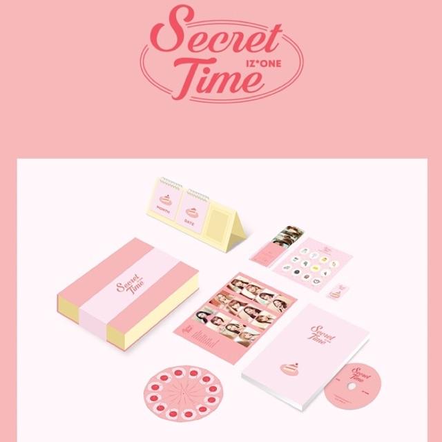IZone Secret Time First Photobook (TINGI)